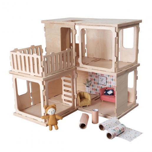 Fabelab Puppenhaus Build Basis Set