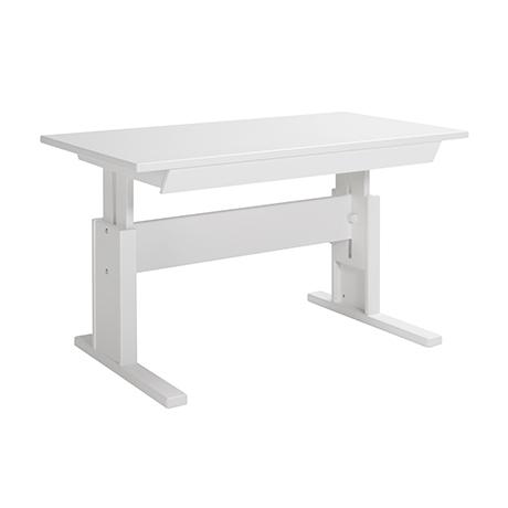 Lifetime Schreibtisch 120 cm mit Schublade Weiß