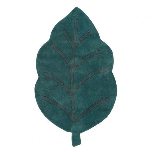 Lilipinso Baumwollteppich Blatt