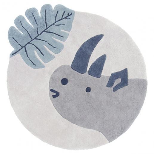 Lilipinso Baumwollteppich Nashorn