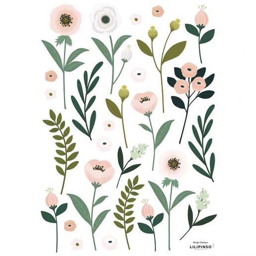 Lilipinso Wandsticker Anemonen Blüten