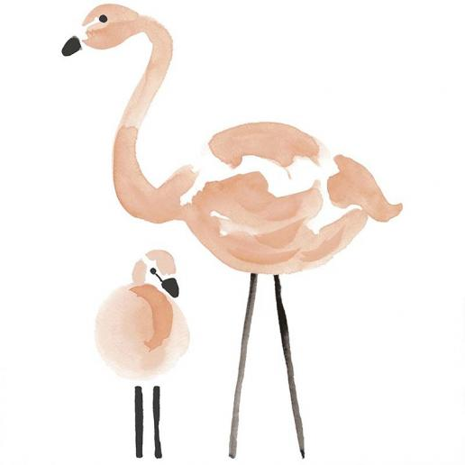 Lilipinso Wandsticker Flamingos XL