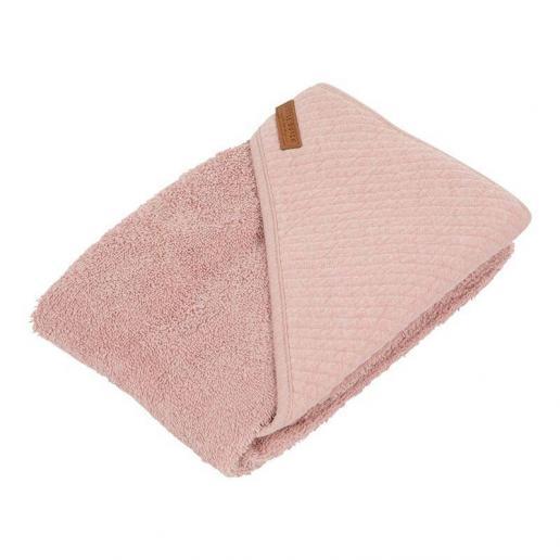 Little Dutch Kapuzenhandtuch Pure & Soft Pure Pink