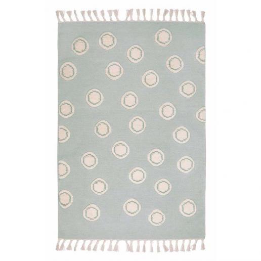Livone Teppich Happy Rugs Ring Mint/Natur 120x180 cm