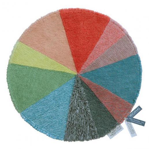 Lorena Canals Runder Wollteppich Pie Chart
