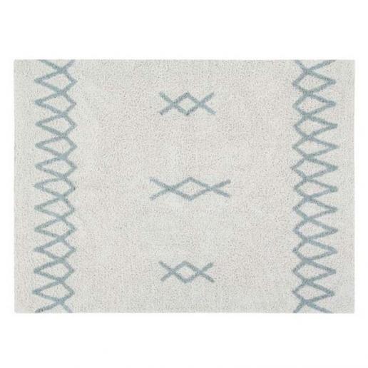 Lorena Canals Waschbarer Teppich Atlas Vintage Blue
