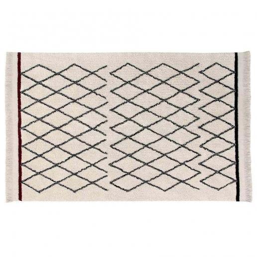 Lorena Canals Waschbarer Teppich Bereber Crisscross 140 x 210