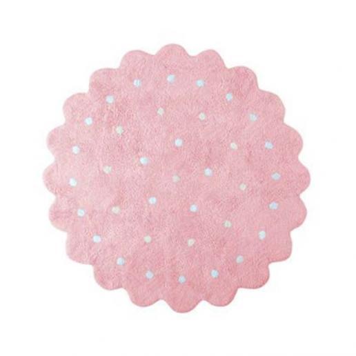 Lorena Canals Waschbarer Teppich Little Biscuit Pink