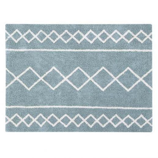 Lorena Canals Waschbarer Teppich Oasis Vintage Blue