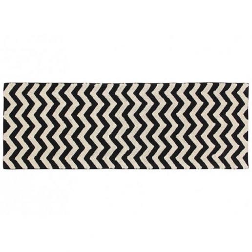 Lorena Canals Waschbarer Teppich Zig-Zag 80 x 230 cm