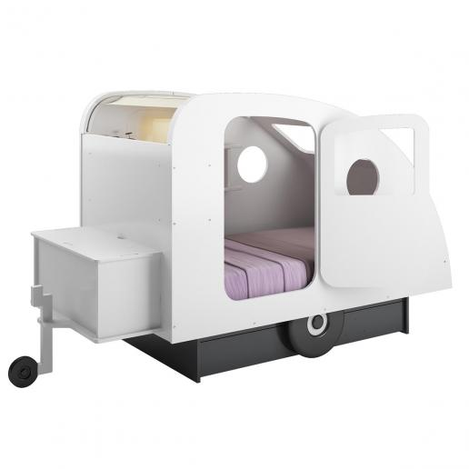 Mathy By Bols Kinderbett Caravan mit Schublade