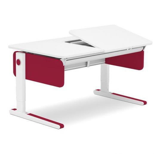 Moll Champion Style Right Up Schreibtisch Rot