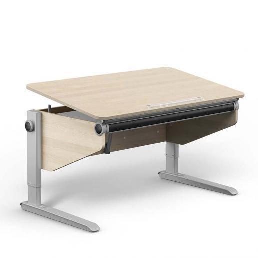 Moll Schreibtisch Winner Ahorn-Weiß Comfort