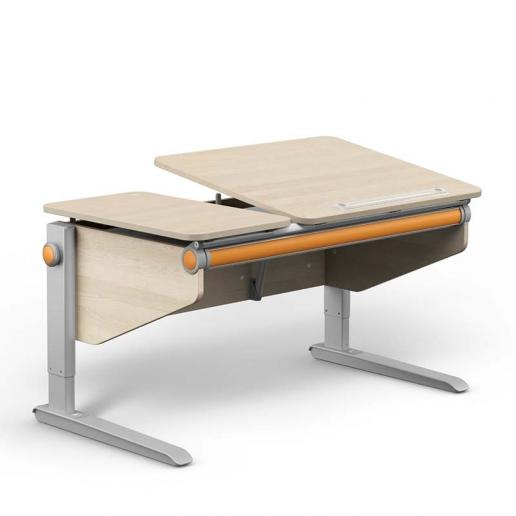 Moll Schreibtisch Winner Split Ahorn-Weiß Comfort