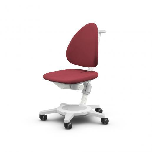 Moll Schreibtischstuhl Maximo weiss Rot