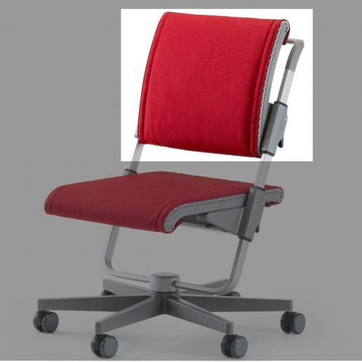 Moll Scooter Rückenkissen Rot