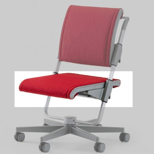 Moll Scooter Sitzkissen Rot