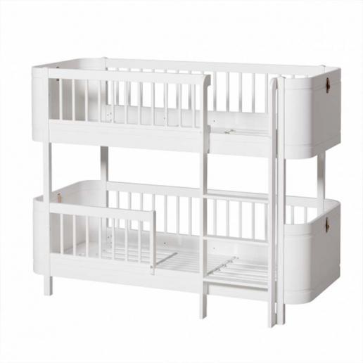 Oliver Furniture Etagenbett Wood Mini+ Weiß