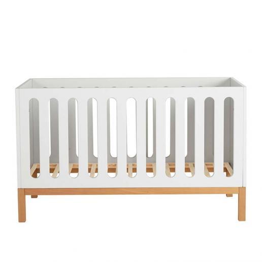Quax Babybett Indigo Weiß 70 x 140 cm