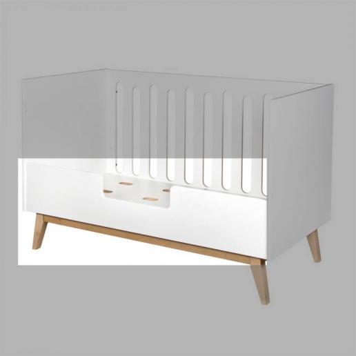 Quax Umbauseite für Babybett Trendy Weiß