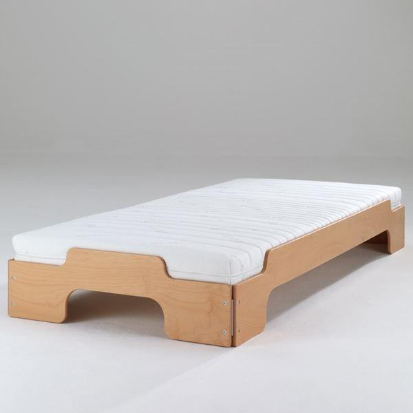 7 zonen kaltschaummatratze f r stapelliege. Black Bedroom Furniture Sets. Home Design Ideas