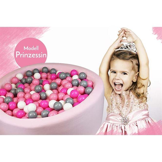 Bällebad Prinzessin Rosa