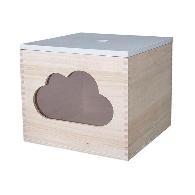 Bloomingville Aufbewahrungsbox Wolke Weiß