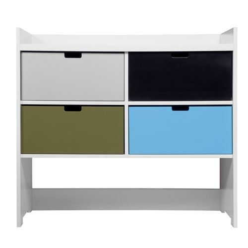 kommode mix and match in weiss mit farbigen schubk sten online kaufen. Black Bedroom Furniture Sets. Home Design Ideas