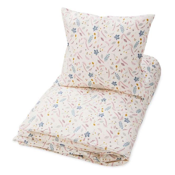 CamCam Kinderbettwäsche Pressed Leaves | Kinderzimmer > Textilien für Kinder > Kinderbettwäsche | Beige