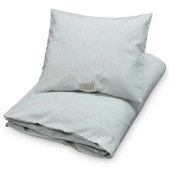CamCam Kinderbettwäsche Sashiko Mint | Kinderzimmer > Textilien für Kinder > Kinderbettwäsche | Mint - Weiß