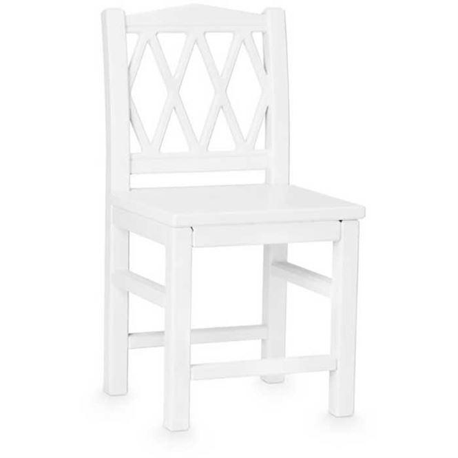 CamCam Kinderstuhl Harlequin Weiß