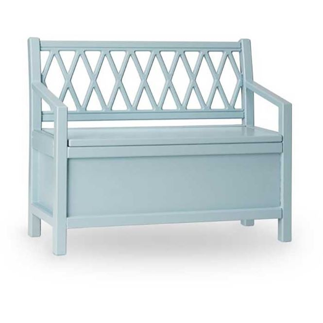 CamCam Sitzbank Harlequin Blau