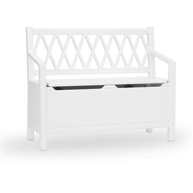 CamCam Sitzbank Harlequin Weiß