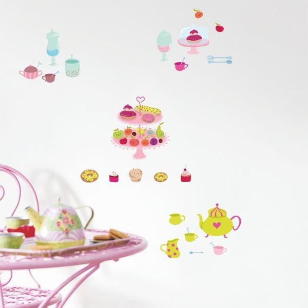 Caselio Wandsticker Trendy Cup Cake | Dekoration > Wandtattoos > Wandtattoos