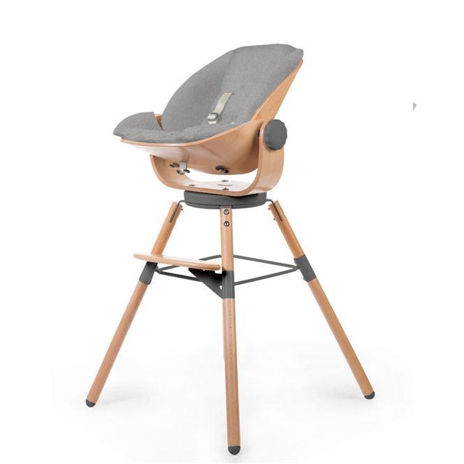 Childwood Sitzkissen für den Neugeborenensitz Grau