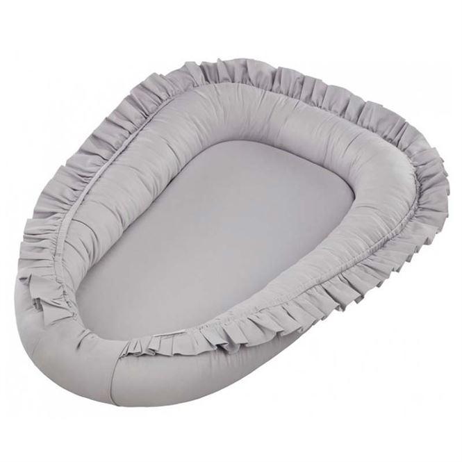 Cotton & Sweets Baby Nest Grau