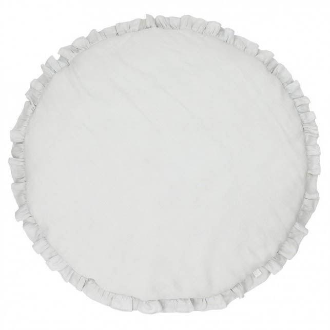 Cotton & Sweets Spielmatte Krabbeldecke Hellgrau