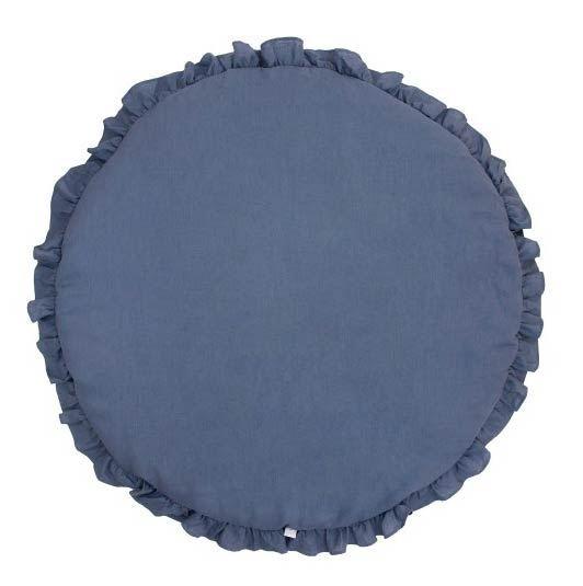Cotton & Sweets Spielmatte Krabbeldecke Jeansblau