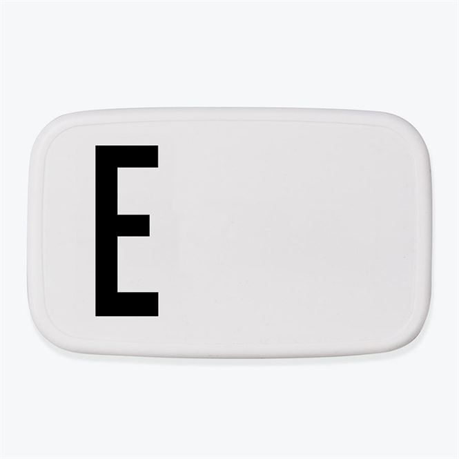 Design Letters Lunch Box E