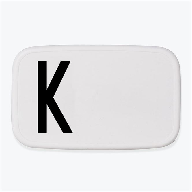 Design Letters Lunch Box K