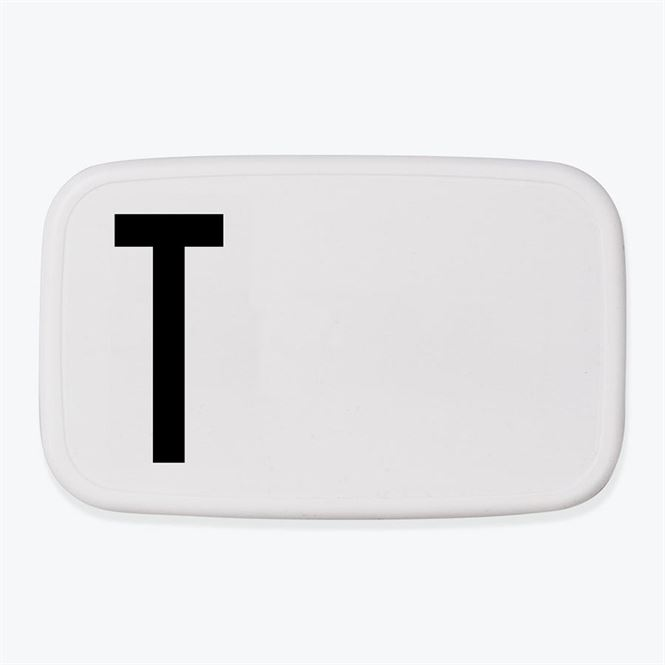Design Letters Lunch Box T