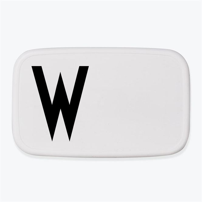 Design Letters Lunch Box W