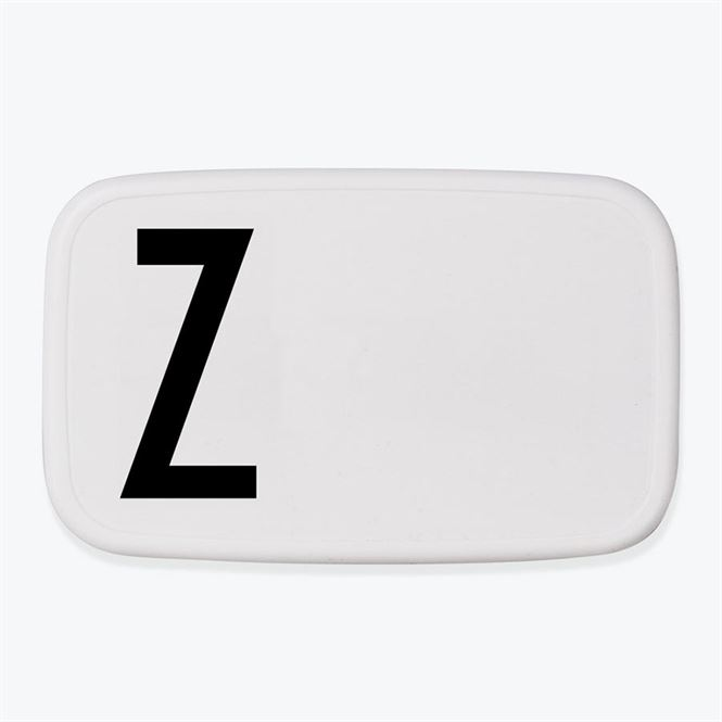 Design Letters Lunch Box Z