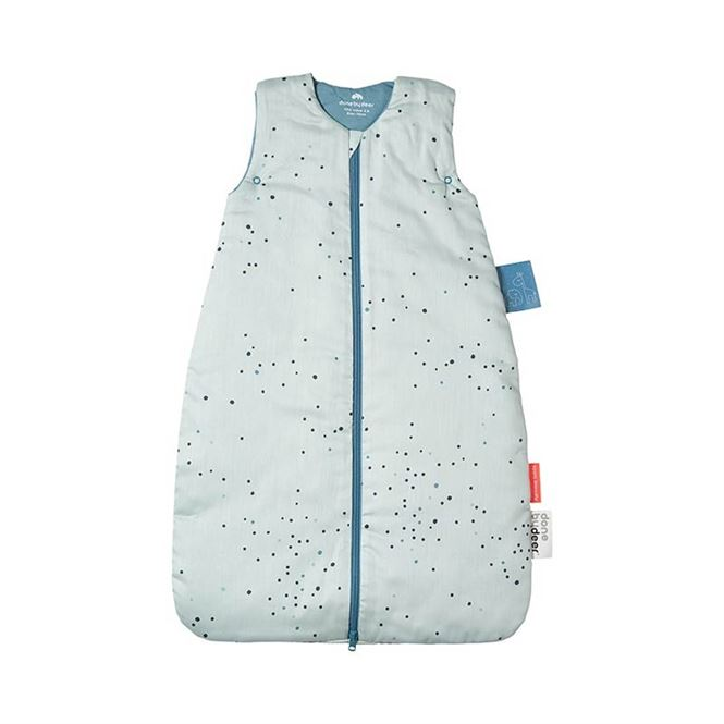 Done by Deer Schlafsack Dreamy Dots Blue 90cm
