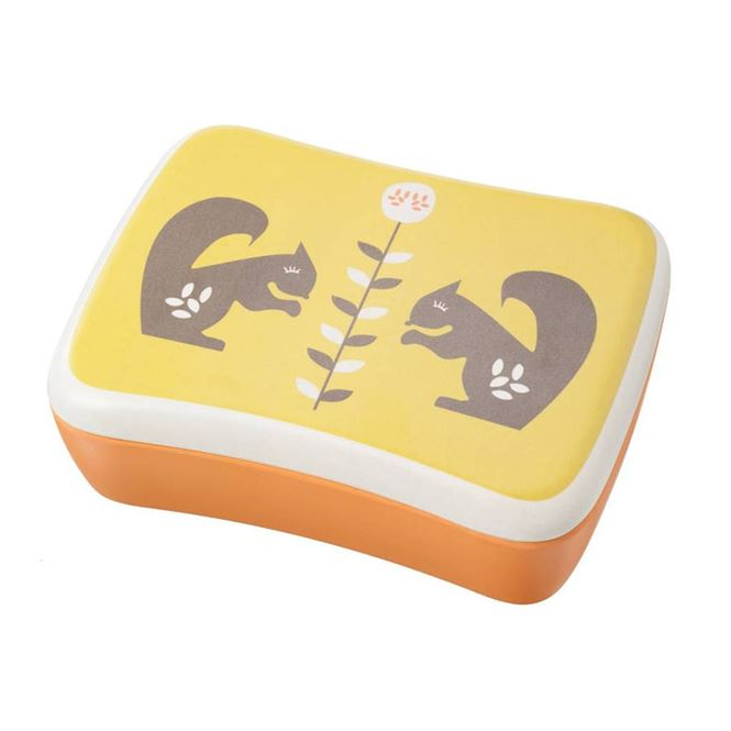 Fresk Lunch Box Wald Tiere