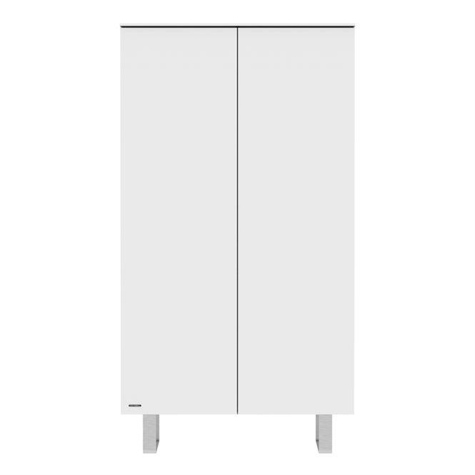 Kidsmill Schrank Intense Weiß 2 Türen