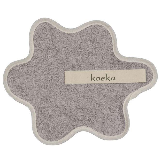 Koeka Schnullertuch Rome Silver Grey