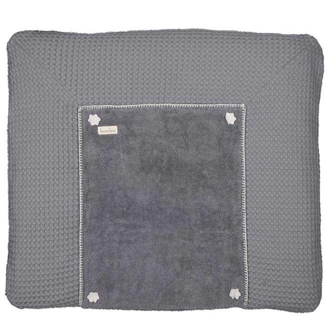 Koeka Wickelauflagenbezug Bonn Steel Grey