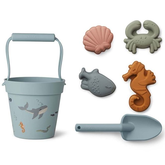 Liewood Strandspielzeug Set Dante - Sea Creature mix