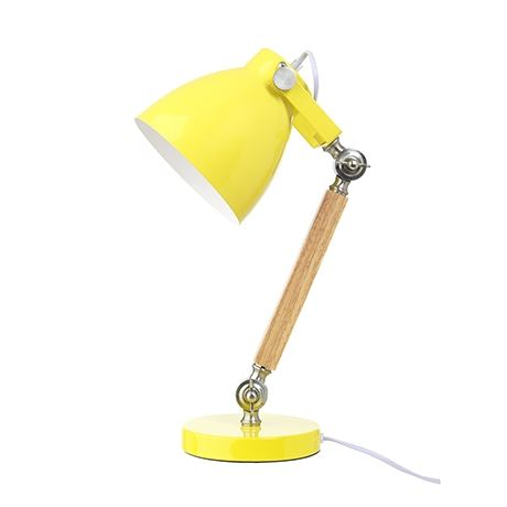 Lifetime Tischlampe Gelb